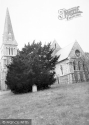Halstead, Trinity Church c.1955