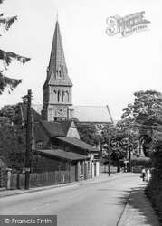 Halstead, Trinity Street c.1955