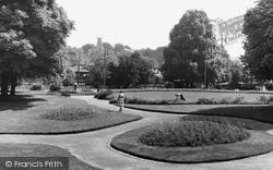 Halstead, View From Recreation Ground c.1955