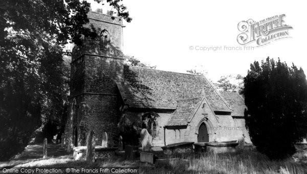 Photo of Halstock, St Mary's Church c.1960