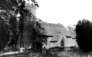 Halstock, St Mary's Church c1955