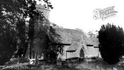 St Mary's Church c.1960, Halstock