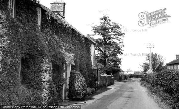 Photo of Halstock, The Village c.1960