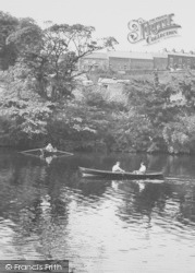 Boating On The River c.1960, Halton