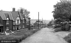 Castle Road c.1955, Halton