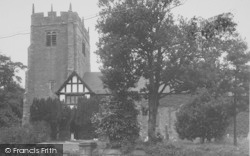 St Wilfrid's Church c.1955, Halton