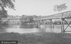 The River And Bridge c.1960, Halton