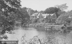 The River And Church c.1960, Halton