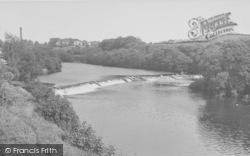 Halton, The Weir c.1955