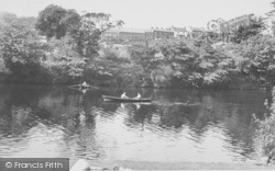Village From The River c.1960, Halton