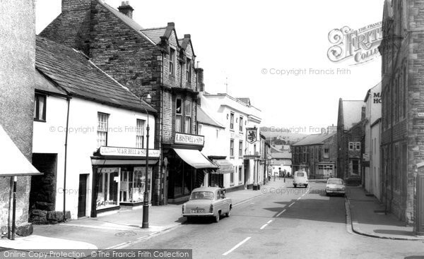 Photo of Haltwhistle, Main Street c1960, ref. H344046