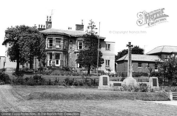 Photo of Haltwhistle, Memorial Park and Hospital c1960, ref. H344049