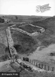 The Roman Wall c.1960, Haltwhistle