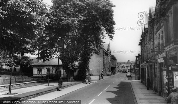 Photo of Haltwhistle, Westgate c1960, ref. H344050