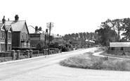 Hamble, Hamble Lane c1955