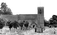 Hamble, St Andrew's Church c1955