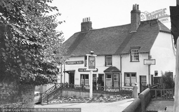 Photo of Hamble, The Bugle Inn c.1955
