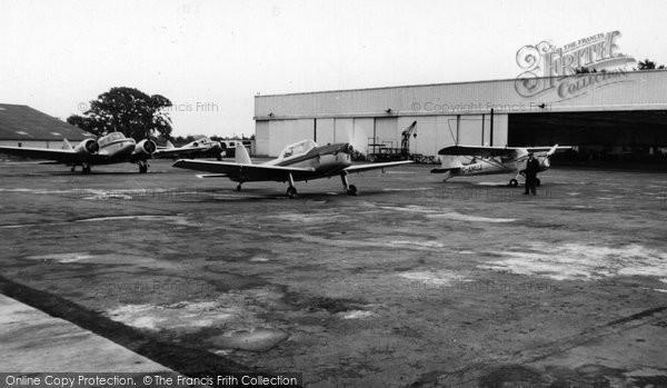 Hamble, the Flying School c1955