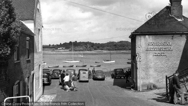 Hamble, the Harbourside c1955