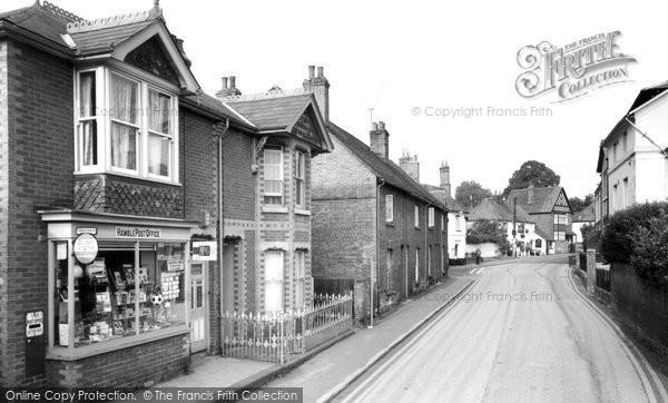 Hamble, the Post Office c1955