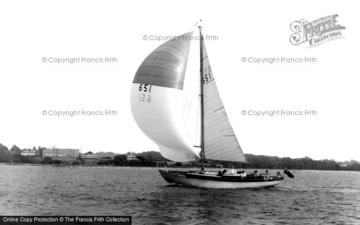 Photo of Hamble, The River Hamble c.1960