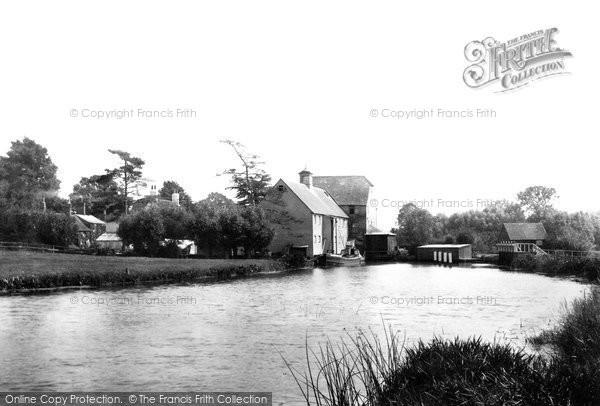 Hambleden,the Mill 1890,Buckinghamshire