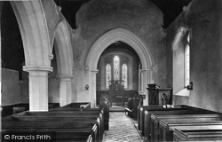 Hambledon, Church Interior 1906
