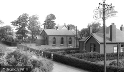 Hambleton, Congregational Church And The Manse c.1960
