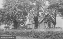 Hambleton, The Parish Church c.1960