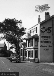 Hambleton, The Shovels Inn c.1955