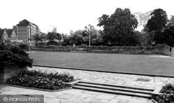 Furnivall Gardens And Bridge c.1960, Hammersmith