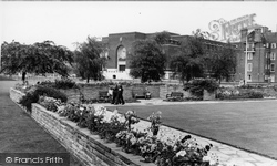 Furnivall Gardens And Town Hall c.1960, Hammersmith