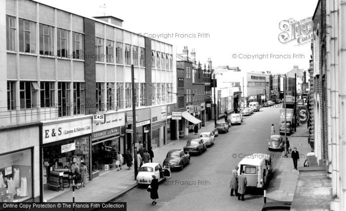 Hammersmith, King Street c1960