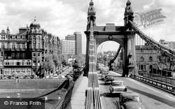 The Bridge c.1965, Hammersmith
