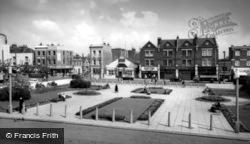 Town Hall Square c.1960, Hammersmith