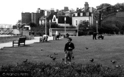 Young Boy In Furnivall Gardens c.1960, Hammersmith