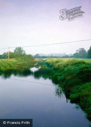 Hammoon, Power Lines Over The River Stour 2006