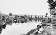 Hampstead, Bathing Pond 1898