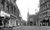 Hampstead, Heath Street c1955