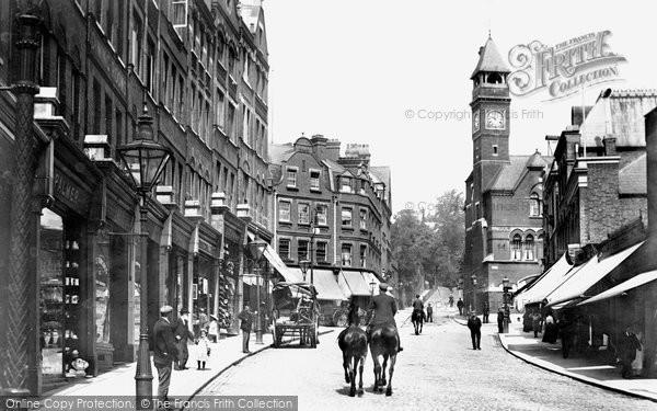 Hampstead, High Street 1898