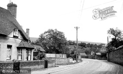 Hampstead Norreys, Church Street 1950