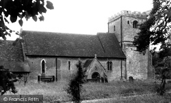 Hampstead Norreys, St Mary's Church c.1950