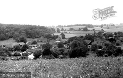 Hampstead Norreys, The Village From Folly Hill c.1950