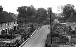 Hampstead Norreys, Water Street 1950