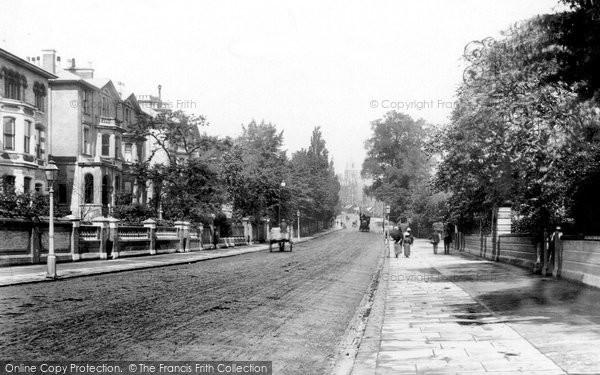 Hampstead, Rosslyn Hill 1898