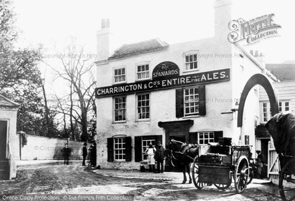 Hampstead, The Spaniards, Spaniards End 1890