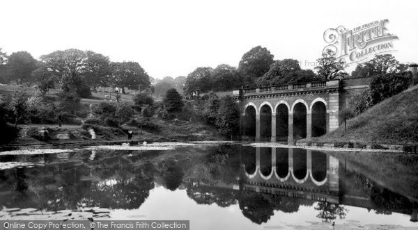 Photo of Hampstead, Viaduct And Pond 1898