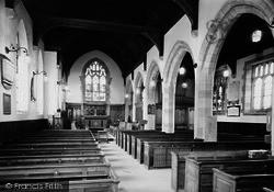 The Church Interior c.1960, Hampsthwaite