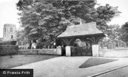 The Lychgate And Church c.1960, Hampsthwaite