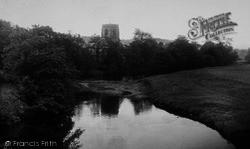 The River And Church c.1955, Hampsthwaite